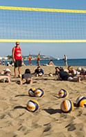 Beachvolleyballtrainer