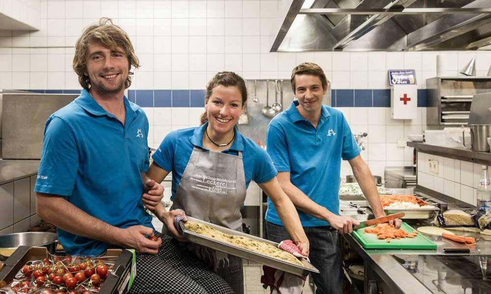 Fortbildung zur k chin zum koch bei frosch sportreisen for Arbeit als koch